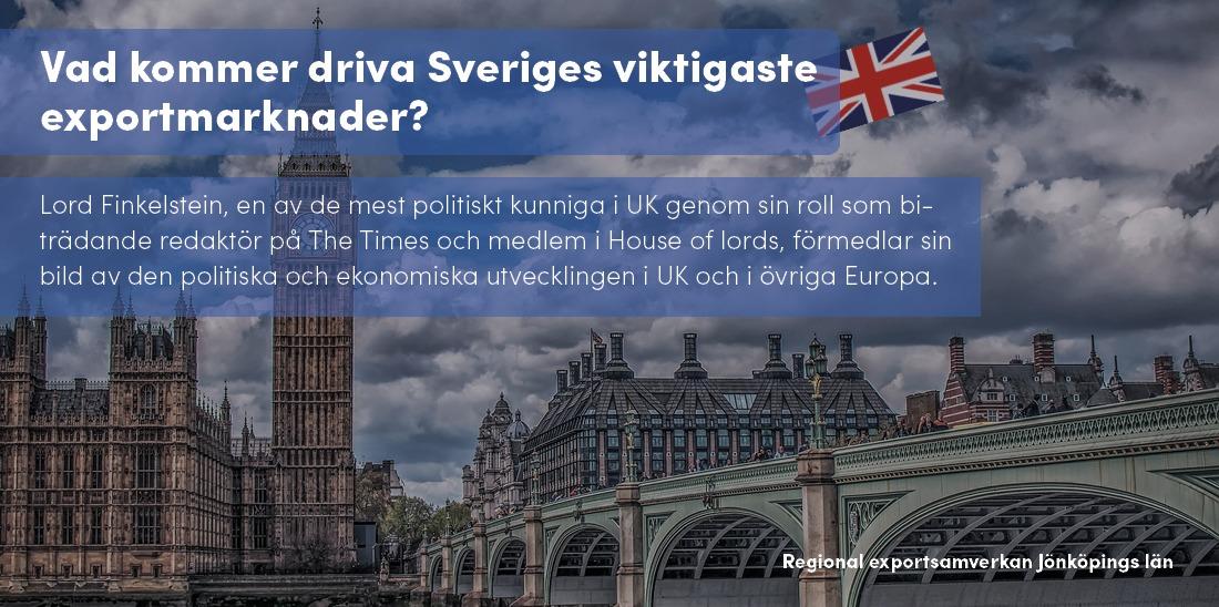 Vad kommer driva Sveriges exportmarknader